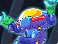 Флеш игра Галактический полицейский