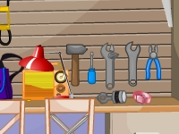 Флеш игра Гараж: Поиск предметов