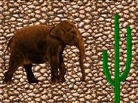 Флеш игра Где слон?