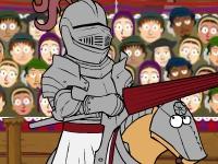 Флеш игра Генрих 8 - рыцарский турнир Головы и Сердца