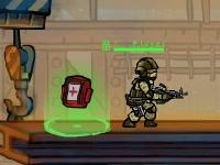 Флеш игра Герои ударной силы