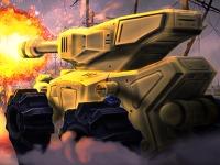Флеш игра Герой на танке