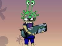 Флеш игра Глупые бомбы и космические захватчики