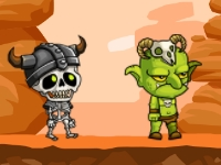 Флеш игра Гоблины и скелеты