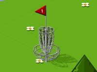 Флеш игра Гольф с дисками