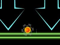Флеш игра Гольф со сменой гравитации