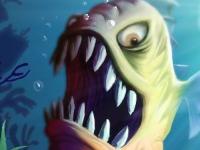 Флеш игра Голодная рыба