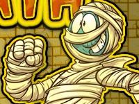 Флеш игра Голова мумии