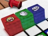 Флеш игра Головоломка с мемами 3D