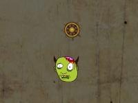 Флеш игра Головы зомби и золото