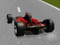 Флеш игра Гонка: Формула 1