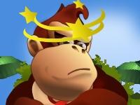 Флеш игра Гонка Кинг-Конга по джунглям