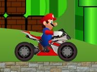 Флеш игра Гонка Марио на байке