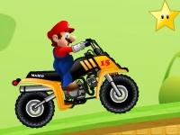 Флеш игра Гонка Марио на квадроцикле