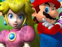 Флеш игра Гонка Марио под дождем 3
