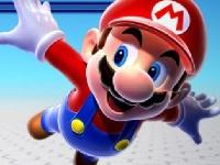 Флеш игра Гонка Марио в тележке 2