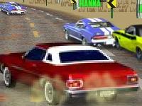 Флеш игра Гонка на 8-ми цилиндровых авто