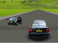 Флеш игра Гонка на BMW