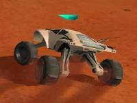 Флеш игра Гонка на Марсе 3D