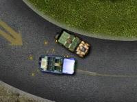 Флеш игра Гонка на армейских машинах