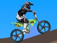 Флеш игра Гонка на горном велосипеде 2