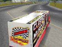 Флеш игра Гонка на грузовиках 3D