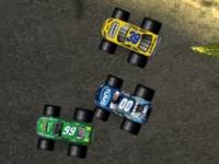 Флеш игра Гонка на грузовиках монстрах