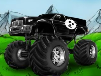 Флеш игра Гонка на грузовике-монстре в Китае