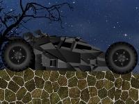 Флеш игра Гонка на машине Бэтмена