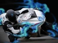 Флеш игра Гонка на мотоцикле в 3D