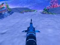 Флеш игра Гонка на подводной лодке