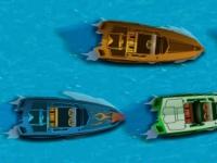 Флеш игра Гонка на скоростных лодках
