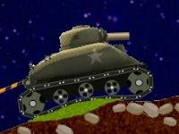 Флеш игра Гонка на танке и грузовике