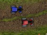 Флеш игра Гонка на тракторе