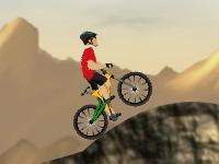 Флеш игра Гонка на велосипеде по склонам