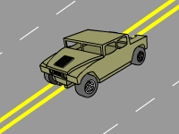 Флеш игра Гонка по плохой дороге