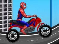 Флеш игра Гонка с Человеком пауком