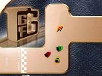 Флеш игра Гонка с заносом и ускорением