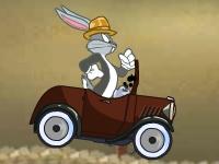Флеш игра Гонка винтажного кролика