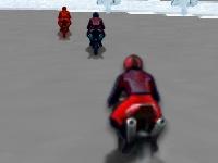Флеш игра Гонки на льду 3D