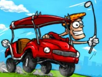 Флеш игра Гонки на машине для гольфа 2