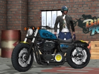 Флеш игра Гонки на мотоциклах