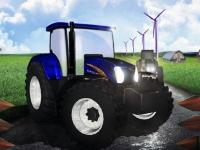 Флеш игра Гонки на тракторе