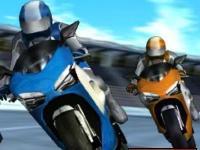 Флеш игра Гоночные мотоциклы: Звездные трассы