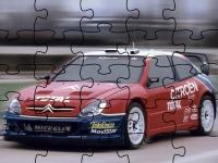 Флеш игра Гоночный автомобиль марки Ситроен: Пазл