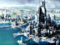 Флеш игра Город будущего 2: Пазл