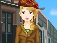 Флеш игра Городская девушка