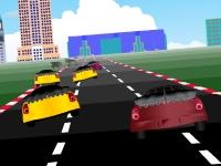 Флеш игра Городская гонка