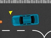 Флеш игра Городская парковка с препятствиями