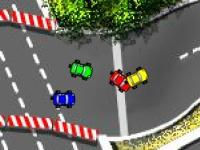 Флеш игра Городские гонки
